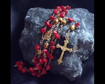 Stones - crystal rosary