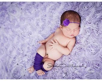 Newborn Leg Warmer Set, Photo Prop, Baby leggings, Newborn Leg Warmers, Purple Ruffle Leg Warmers, Newborn Photo Prop, Ruffle Leggings, Baby