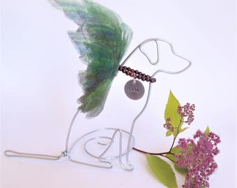 Labrador Pet Memorial - Labrador Retriever - Labrador Angel -  Pet Loss Gift - Rainbow Bridge - pet lover - Lab Memorial