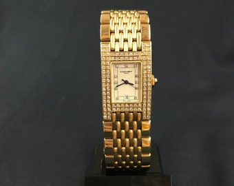 CHAUMET 18 Kt gold watch