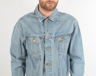 Vintage LEE Denim Jacket Size XL (1357)