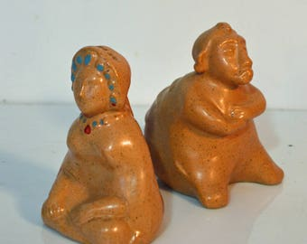 Senor Pico Salt Pepper Shakers Mid Century Modern