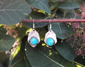 Silver/Turquoise Earrings