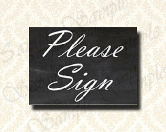 Guestbook-Tabelle Zeichen, bitte Chalkboard Zeichen, druckbare Zeichen, Download Print Frame, Hochzeit Zeichen, Zeichen, Partei Zeichen, 8 x 10, 5 x 7 - 104