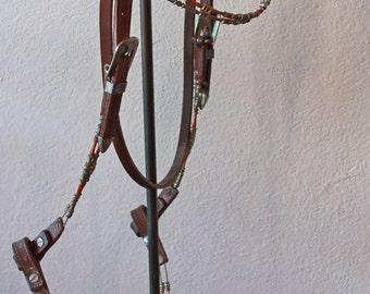 Vintage Bridle, Headstall & Reins Set