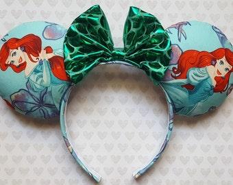 Little Mermaid inspired Mouse Ears