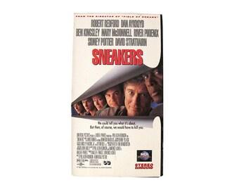 Sneakers VHS 90s Robert Redford Dan Akroyd Ben Kingsley 90s