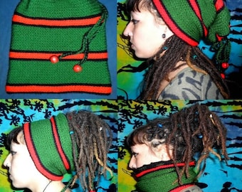 Hat with dreads 74 crocheted entirely roots!