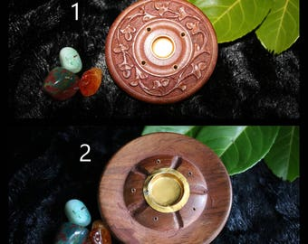 Round Incense Holder / Ash Catcher