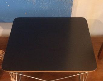 Eames Herman Miller LTR side table black