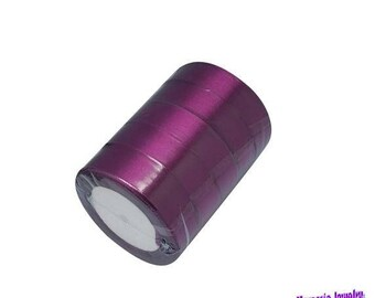 Ribbons satin purple / violet 25mm