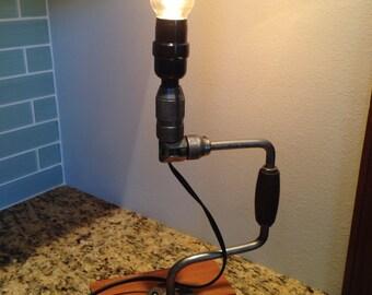 Hand Drill Lamp