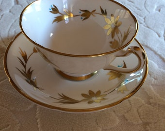 Vintage Royal Grafton Bone China Teacup and Saucer