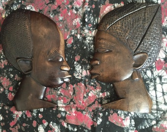 African Wall Carvings