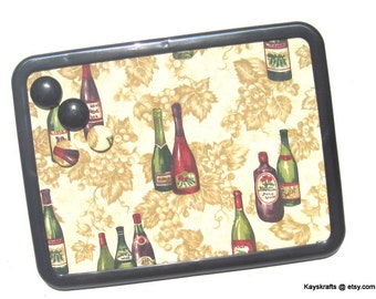 Tuscany Wine Magnet Board Bulletin Board Message Board Comes With 4 Button Magnets Adults Teens Kitchen Dorm School Locker
