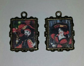 New Orleans Pirate Earrings!