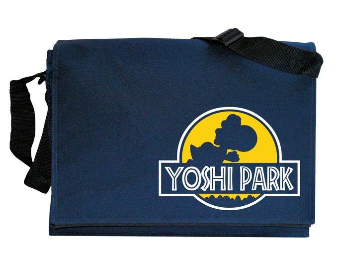 Yoshi Park Navy Blue Messenger Shoulder Bag
