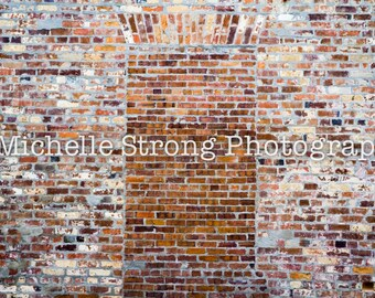 Brick Background, Digital Background, Stock Photography, Digital Product, Instant Download, Scrapbooking Background, Brick Wall Backdrop