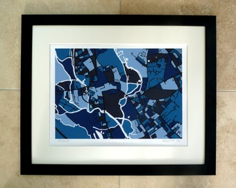 Black Frame For A3 Print From Firewater Gallery