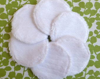 "Reusable Face Pads, Facial Rounds, 2-3/8"", Eco Friendly, Skin Care, Makeup Remover Pads, College Student Gift, Gift for Mom, Zero Waste"