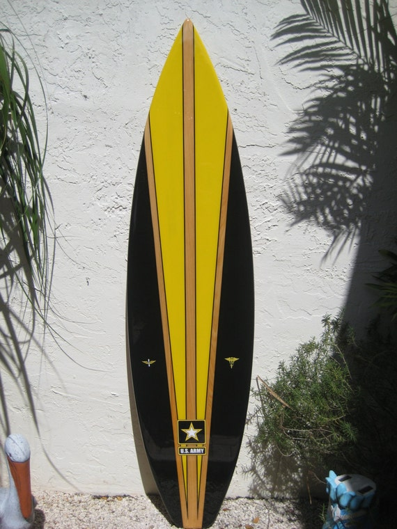 Unique Wooden Surfboard Wall Art Image - Wall Art Collections ...