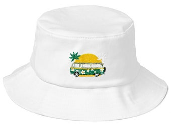 Retro Vibe Summer Hat Perfect for Vintage Car Lovers