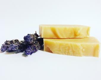 Lavender Essential Oil Goats' Milk Soap Bar