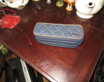 Nine West double sided case, zippered, bag, mirror w/ free ship