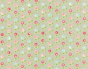 Vintage Picnic - Rosie in Gray by Bonnie & Camille for Moda Fabrics