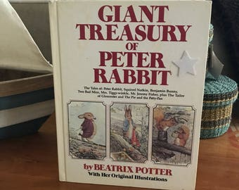The giant tressury of peter rabbit childrens book copyright 1980