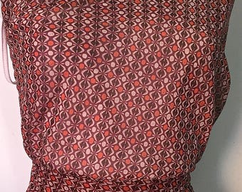 3 m printed muslin, cotton/viscose material very light 63 set A