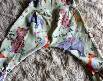 Inspirational Animals Harem Pants Sizes 00 & 0