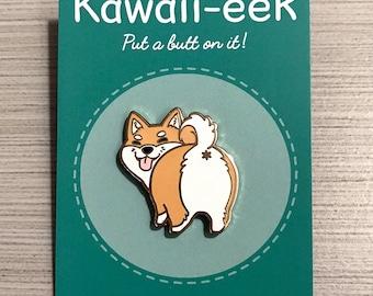 Shiba Inu Dog Hard Enamel Pin