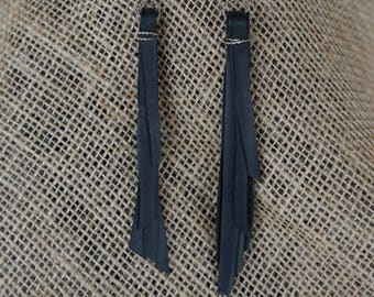 Tire Tube Earrings