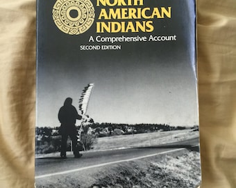 Large North American Indians comprehensive book