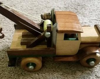 Handmade Wooden Toy Truck