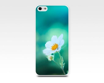 flower iphone case 5s floral iphone case 6 teal emerald pink flowers photography art iphone 4 4s 5 case nature botanical iphone case