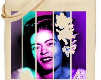Billie Holiday Tote
