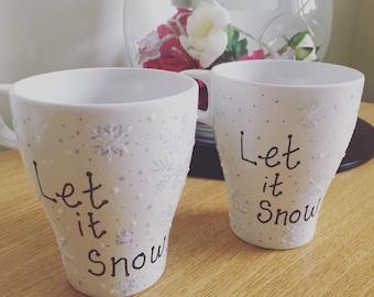 Christmas made to order mugs!!