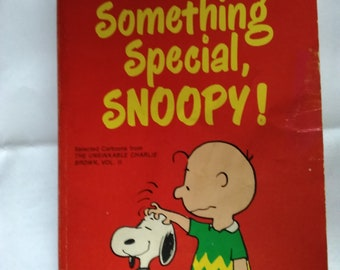 You're Something Special Snoopy by Charles Shultz Paperback Format July 1972