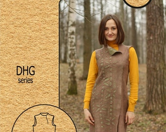 Creativity Kit #13 / Wet felting / Seamless dress