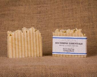 Handcrafted Soap: Lemon Burst