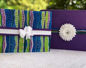 Wavy Stripes Reusable Gift Wrap / Value Pack / Fabric Gift Wrap / Eco-Friendly Gift Wrapping