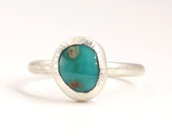 Turquoise Ring, Stacking Ring, Ring Stack, Turquoise Ring Stack, Silver Stacking Ring, Summer Rings, Summer Jewelry, Boho Stacking Ring 4132