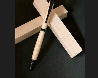Handmade Wooden Maple Pen