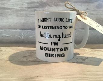 Cycling mug- mountain biking mug- funny mug- bike mug- mountain bike mug- cycling mug- - biker mug- mountain biker- mountain biking- dad mug