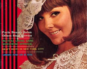 Adam Magazine vol 12 n 9 September 1968 Near Mint Condition Mature