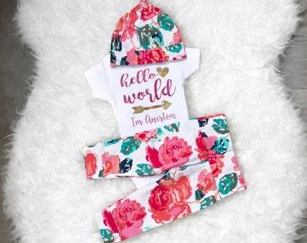 Flower Bouquet 'Hello World' Set