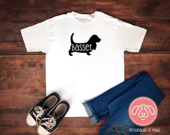 Basset Hound youth T-Shirt