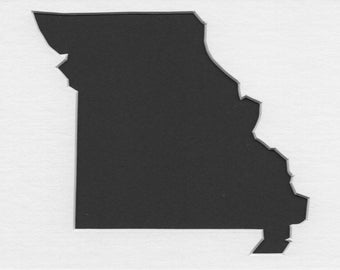 Pack of 3 Missouri State Stencils,Made from 4 Ply Mat Board 16x20, 11x14 and 8x10 -Package includes One of Each Size